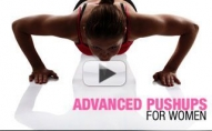 Advanced Pushups for Women (NOT YOUR AVERAGE KNEE PUSH UPS!)