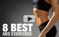 8 BEST Abs Exercises for Women (Some You've Never SEEN!!)