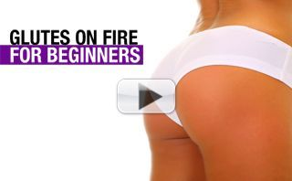 Butt and Thighs Workout for Beginners (GLUTES ON FIRE!!)