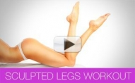 Sculpted Legs Workout (4 EXERCISES YOU'VE NEVER TRIED!!)