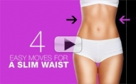 4 Best Moves To SLIM THE WAIST!!
