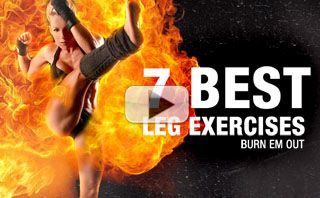 7 Best Exercises to BURN OUT THE LEGS!!