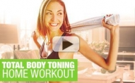 At Home CARDIO/TONING Workout (You & 2 DUMBBELLS!)