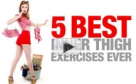 5 Best INNER THIGH Slimming Moves!