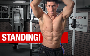 how to torch your abswhile standing full workout
