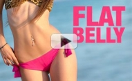 How To Get a FLATTER STOMACH (in 4 Moves!!)