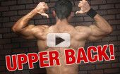 Get a Thicker Upper Back – 2 Exercises (VIDEO DEMO!)