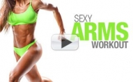 Get SEXY ARMS (Fast Home Workout!!)