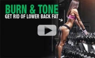 Get Rid of LOWER BACK FAT (Sayonara Spare Tire!)