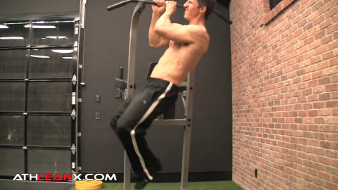 commando pullup bodyweight exercise