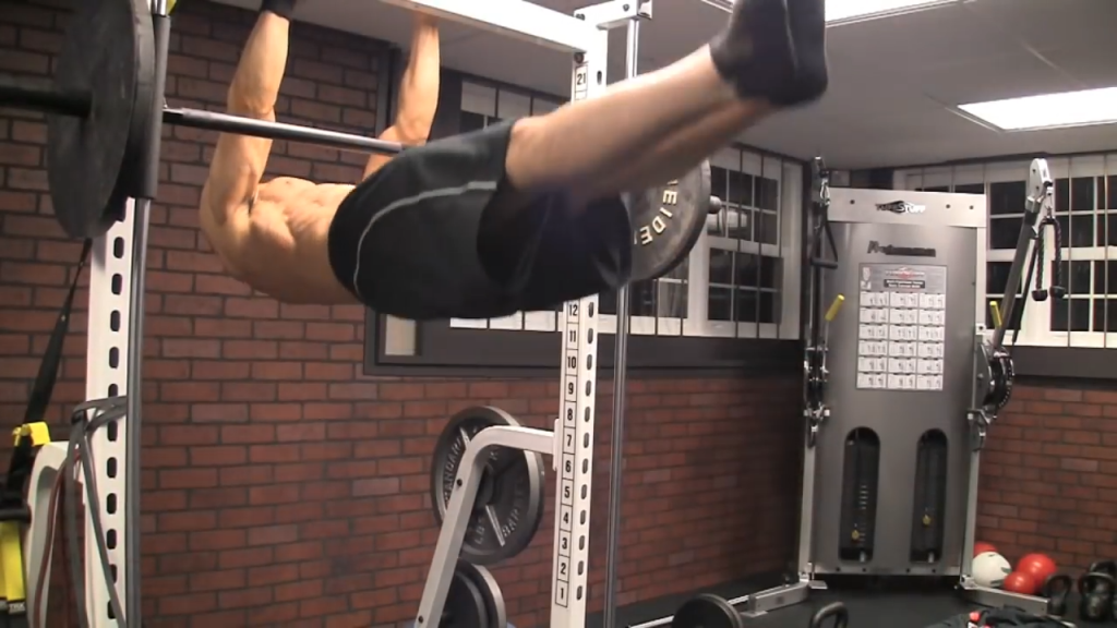 front lever bodyweight exercise