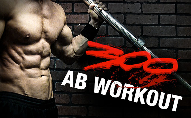 300 abs workout to get six pack abs