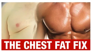 how to lose chest fat and man boobs for men