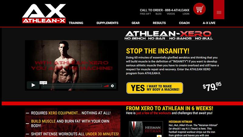Ebook athlean x