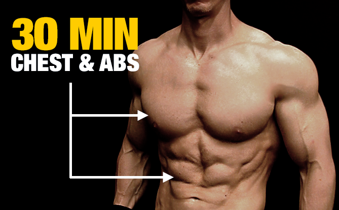 Chest And Abs Workout For Bigger Cut