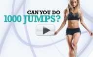 Total Body JUMP ROPE CHALLENGE (1000 Jumps!!)