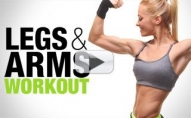 Goodbye TROUBLE ZONES! (Arms and Legs Workout)