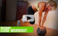 Beginner Core Workout (ABS, GLUTES, LOW BACK!)