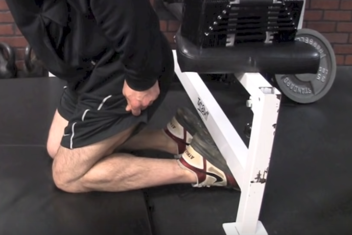 positioning for best calf exercise to get bigger calves