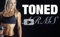 Toned Arms Workout (HIT EVERY ANGLE!!)