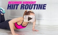 Your First HIIT Workout (PERFECT BEGINNER ROUTINE!!)