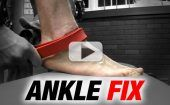 Fix Ankle Sprains and Squat Deeper (INSTANTLY!)