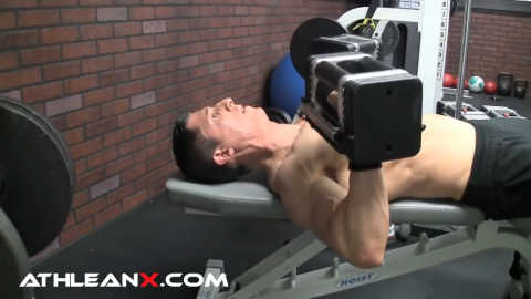 flat bench press arms at 90 degree angle to chest