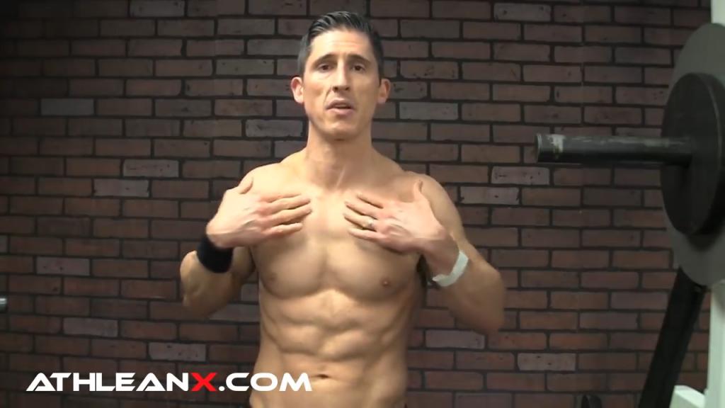 upper chest clavicular muscle fibers