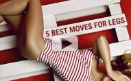 How To Lose Thigh Fat (5 BEST MOVES FOR LEGS!!)