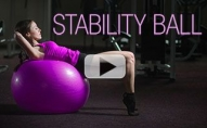 Total Body STABILITY BALL Workout (HITS EVERYTHING!!)