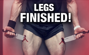 """leg workout """"finisher"""" do this after your workout"""
