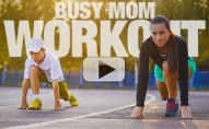 Busy Mom Workout (8 MINS OF KID-FREE INSANITY!!)