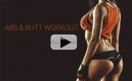 Abs and Butt Workout for Beginners (SEXY TUMMY & CUTE BOOTY!!)