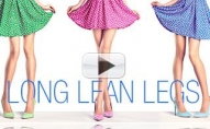 Long Lean Legs Workout (5 FAVORITE MOVES!!)