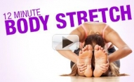 12 Minute Full Body Stretch (STRONG – SEXY- FLEXIBLE!!)