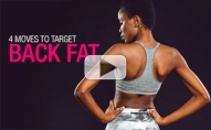 How To Lose Bra Fat (4 MOVES TO TARGET BACK FAT!!)