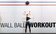 "Super Fun ""WALL BALL"" Workout (Gotta Try This!!)"