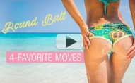 Round Butt Workout (OUR 4 FAVORITE MOVES!!)