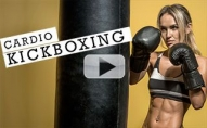 20 Minute Cardio Kickboxing Workout (MASCARA WILL BE RUNNING!!)