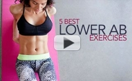 5 Best Lower Abs Exercises for Women (BODYWEIGHT ONLY!!)