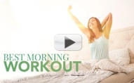 Best MORNING WORKOUT Ever! (Here's Your Wake Up Call!!)