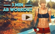 Your Ticket to a FLAT STOMACH! (3 MINUTE ABS!!)