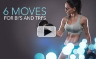 6 Best Moves for Biceps and Triceps (SLIM SEXY ARMS!!)