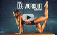 Women's Home LEGS Routine (BODYWEIGHT ONLY!!)