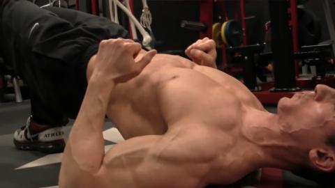 lat bridge holds lower back exercise