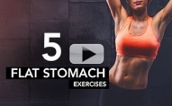 Stomach Flattening Workout (LASER TARGETS LOWER ABS!!)