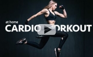 Intermediate Cardio Workout (AT HOME PLYO ROUTINE!!)