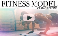 Fitness Model's Cardio Routine (INSIDER LOOK!!)