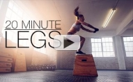 6 INCREDIBLY TOUGH Moves for THIGHS!! (20 Min HIIT!)
