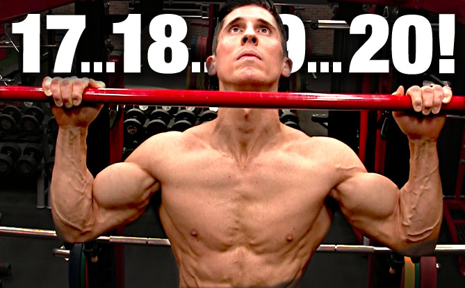 how to do more pullups, 20 or more pull ups in one set